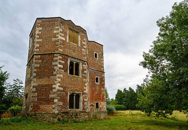Exterior view of Otford Palace, formally the Archbishop's Palace in Otford, Kent