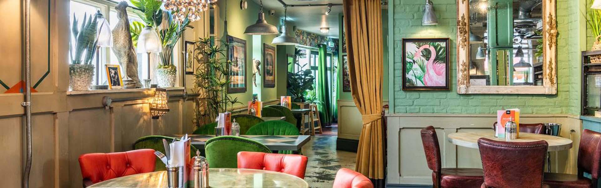 Interior of Bill's Restaurant in Sevenoaks