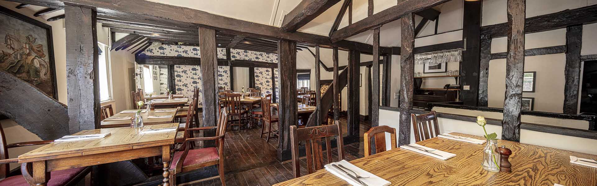 Dining Room at the George & Dragon, Chipstead