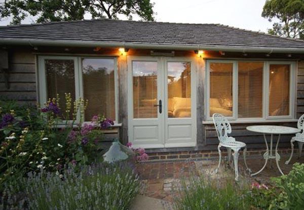 Thatched Cottage Exterior - Potting Shed